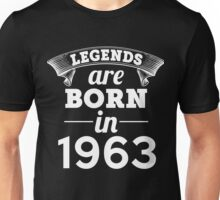 legends are born in 1963 shirt hoodie Unisex T-Shirt