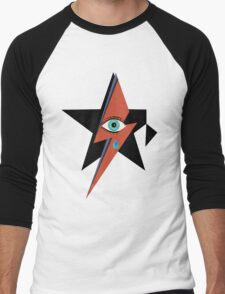 David Bowie : A rock star went to heaven Men's Baseball ¾ T-Shirt