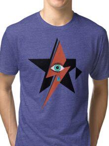 David Bowie : A rock star went to heaven Tri-blend T-Shirt