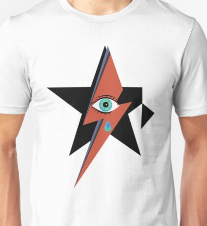David Bowie : A rock star went to heaven Unisex T-Shirt