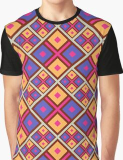 Seamless geometric pattern. Colorful bright background. Graphic T-Shirt