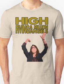 Liz Lemon - High fiving a million angels T-Shirt