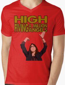 Liz Lemon - High fiving a million angels Mens V-Neck T-Shirt