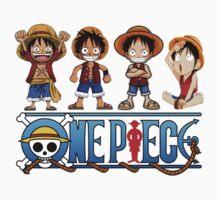 Luffy Kids - One Piece Baby Tee