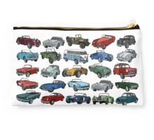 Classic Cars Studio Pouch