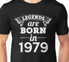 legends are born in 1979 shirt hoodie Unisex T-Shirt