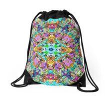 Abstract Spectral Balance Drawstring Bag