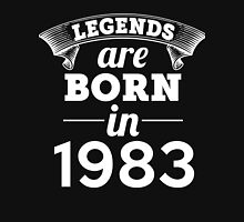 legends are born in 1983 shirt hoodie Unisex T-Shirt