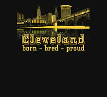 Heritage Park reflecting in the Cuyahoga river. Unisex T-Shirt