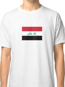 National Flag of Iraq Classic T-Shirt
