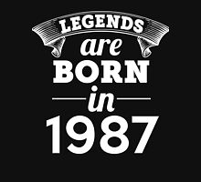 legends are born in 1987 shirt hoodie Unisex T-Shirt