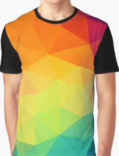 colorful crystal pattern Graphic T-Shirt