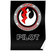 Star Wars Episode VII - Red Squadron (Resistance) - Star Wars Veteran Series Poster