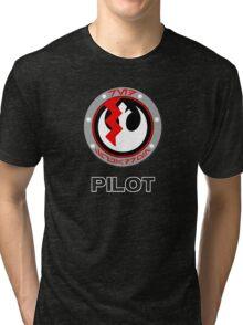 Star Wars Episode VII - Red Squadron (Resistance) - Star Wars Veteran Series Tri-blend T-Shirt