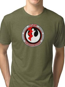 Star Wars Episode VII - Red Squadron (Resistance) - Star Wars Insignia Series Tri-blend T-Shirt