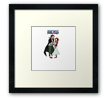 One Piece Couples 01 Framed Print
