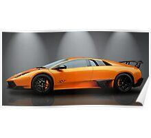 Lamborghini Murcielago Sv Poster