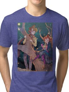 Fairy Oak: Grisam and Pervinca Tri-blend T-Shirt