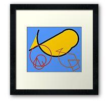 Seal World Framed Print