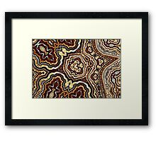 Geometric Patterns No. 58 Framed Print