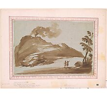 Giovanni Francesco Barbieri, called Il Guercino,  Landscape with a Volcano Photographic Print
