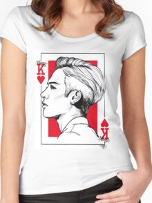 Jackson Wang - Got7 - Mad Women's Fitted Scoop T-Shirt