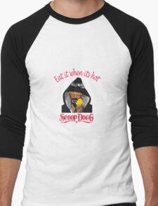 Scoop dogg Eat it when it's hot Men's Baseball ¾ T-Shirt