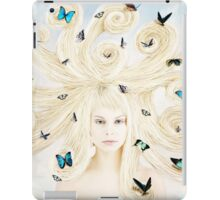 Butterfly girl iPad Case/Skin
