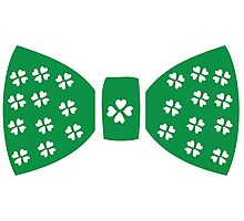 Lucky charm ribbon St.Patrick's day Photographic Print