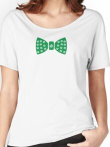 Lucky charm ribbon St.Patrick's day Women's Relaxed Fit T-Shirt