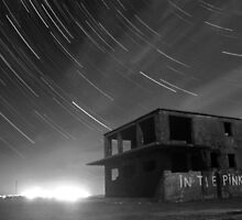 Abandoned Airfield Star Trails by Mark Hobbs