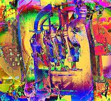 Industriemaschine - Industry Mashine - Industriekultur - Industry culture II by Marion Waschk