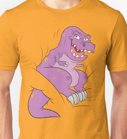 T-REX ! PURPLE Hahaa! Unisex T-Shirt