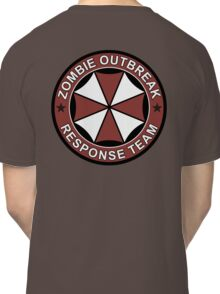 Zombie outbreak response patch Classic T-Shirt
