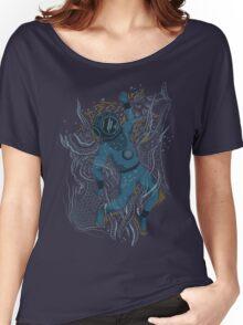 Deep sea diver  Women's Relaxed Fit T-Shirt