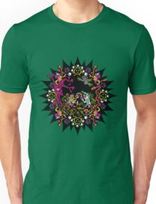 Aztec meeting psychedelic T-shirt T-Shirt