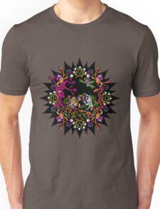 Aztec meeting psychedelic T-shirt Unisex T-Shirt