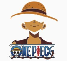 Luffy Alone - One Piece One Piece - Short Sleeve