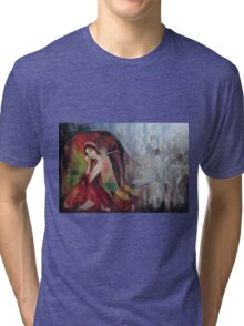 Twilight Drizzles  Tri-blend T-Shirt