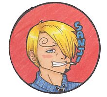 Pre-Time-Skip Sanji Photographic Print
