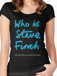 Who is Steve Finch? Women's Fitted Scoop T-Shirt
