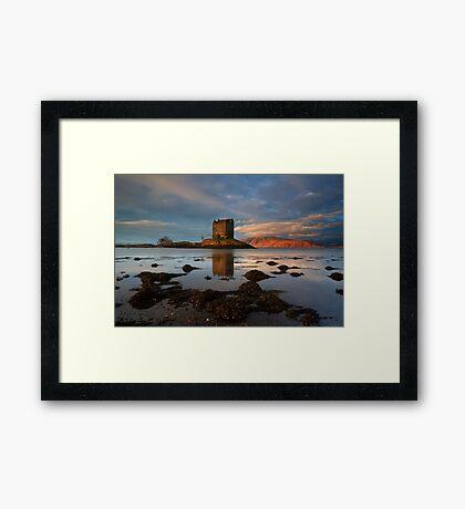 Castle Stalker Framed Print