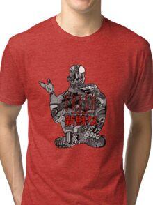 Funky Fresh Tri-blend T-Shirt