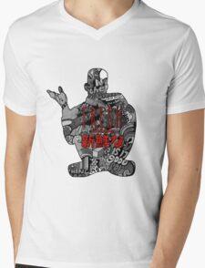 Funky Fresh Mens V-Neck T-Shirt