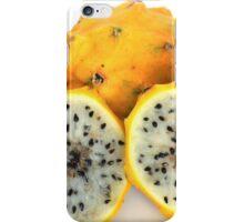 Yellow Pitahaya Fruit iPhone Case/Skin