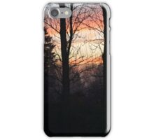 Fog sunrise iPhone Case/Skin