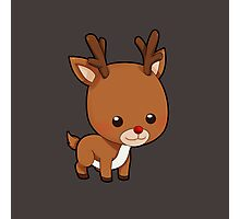 Adorably Cute Reindeer Photographic Print