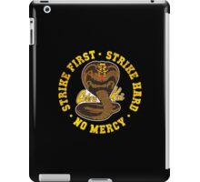 Cobra kai - Distressed Cracked Red Variant iPad Case/Skin