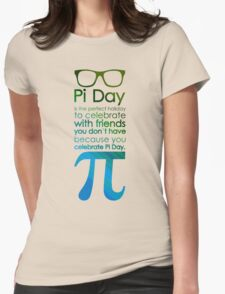 pi day 3 Womens Fitted T-Shirt