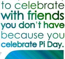 pi day 3 Sticker